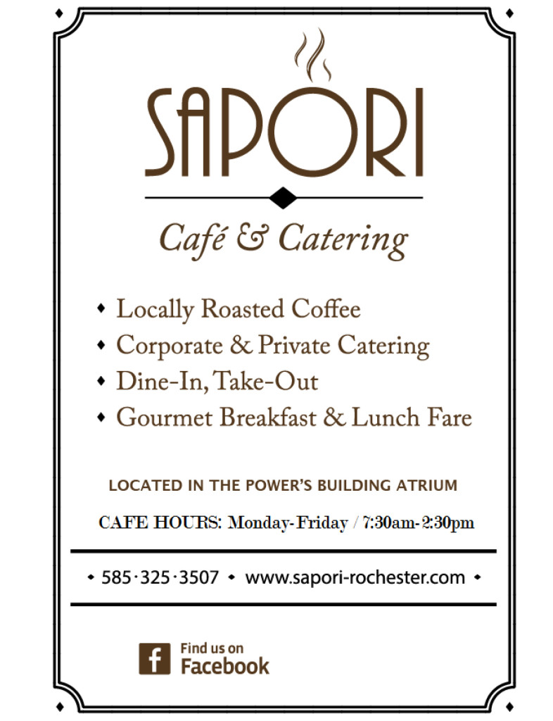 SAPORI Cafe Menu #2-1